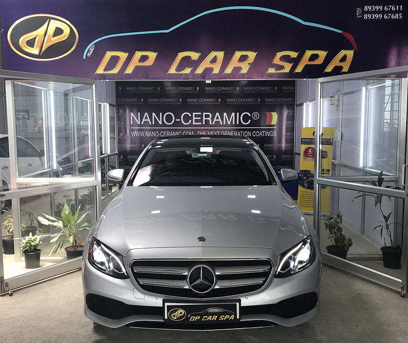 DpCarSpa showroom