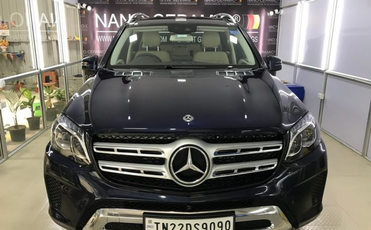 Car Nano-Ceramic Coating – Mercedes Benz GLS 350D