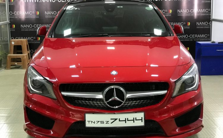 Car Nano-Ceramic Coating Mercedes-Benz CLA 200D