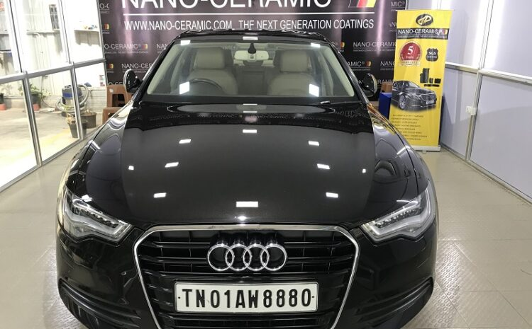 Audi A6 Nano-Ceramic coating